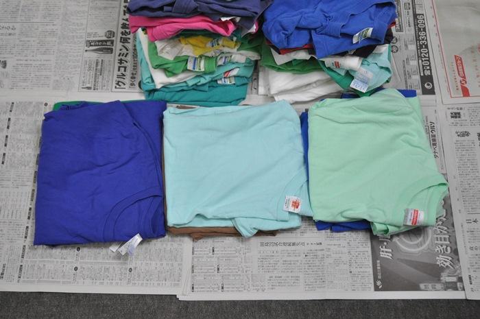 Tシャツの考察と所見と比較