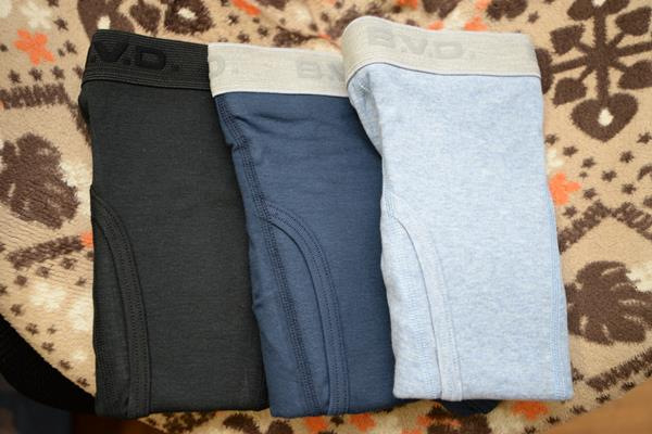 B.V.D.の綿100%ボクサーブリーフは穿きやすいという話