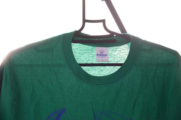 Tシャツの透ける感じの比較